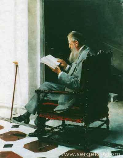 Григорий Строганов в Италии