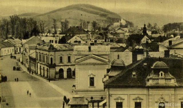 Мукчево. Улица Михайловская. примерно начало ХХ века