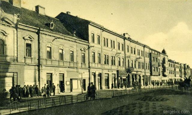 Мукачево. Улица Ракоци, начало века.