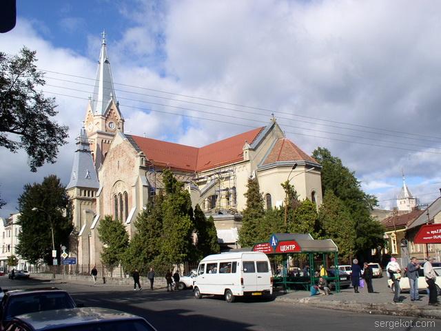 Мукачево. Римско-Католический Собор