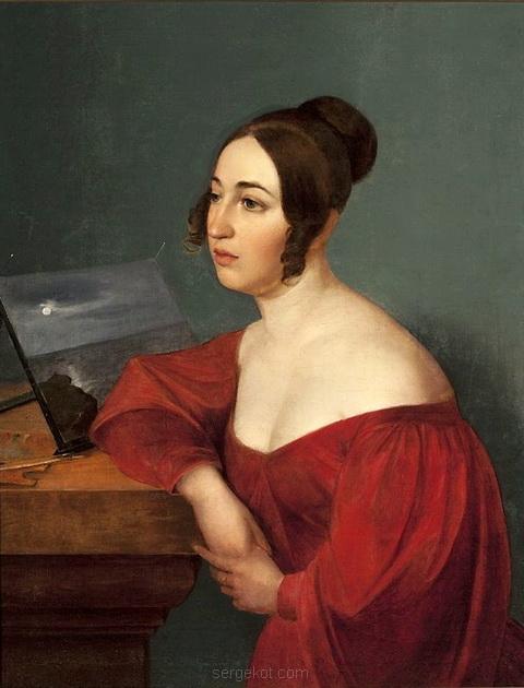 Портрет Гортензии Собанской, ур. Божинец-Еловицкой.