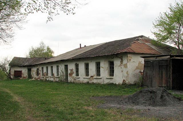 Спичинцы. Официны старого дворца Собанских.