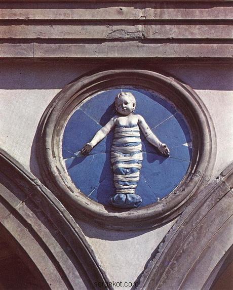Барельеф в Италии.