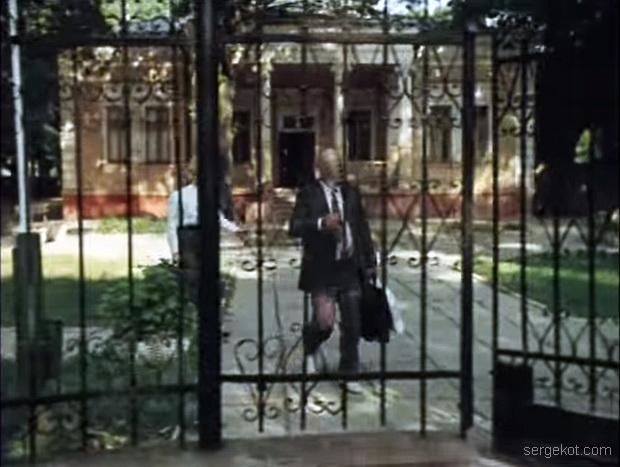 Дача Шульца, 1988. Главный фасад..