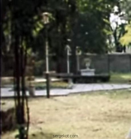 Дача Шульца, 1988. Фонтан перед главным фасадом