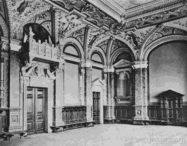 Русское Техническое Общество, Зал. 1899