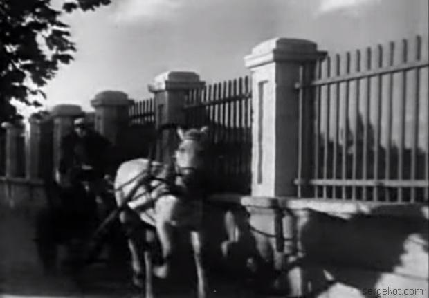 Ограда дачи Брун. 1937 год..