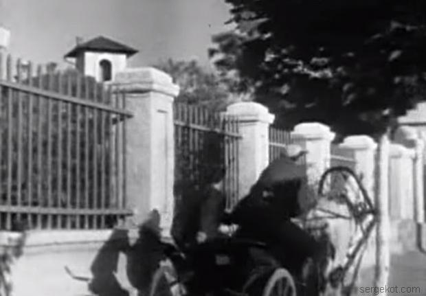 Ограда дачи Брун. 1937 год.