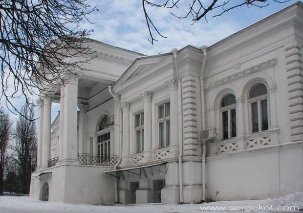 Одесса. Дача Ашкенази. главный фасад.