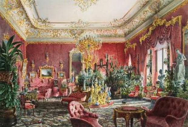 Премацци, Луиджи - Большая гостиная Михайловского дворца в Санкт-Петербурге620