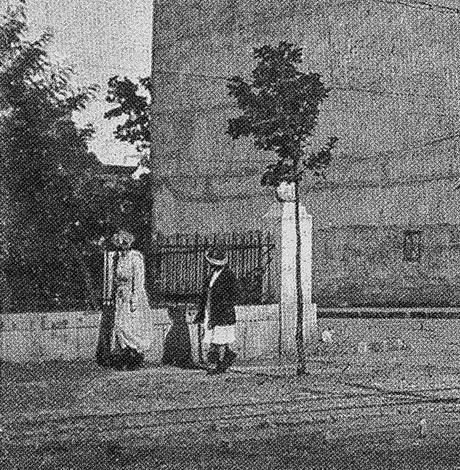 Фрагмент решетки дома 11