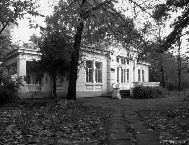 Французский бульвар, 79, дача Бродского, Общий вид.