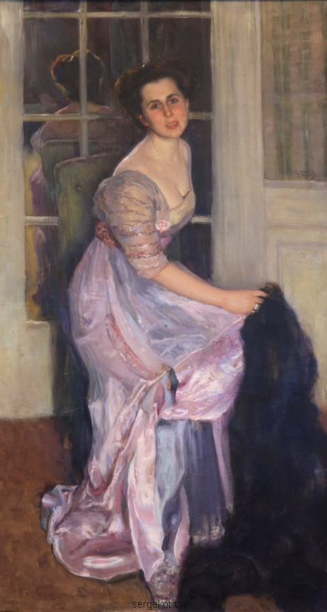 портрет А.Г. Ашкенази. работа Н.Д. Кузнецова, 1910 год