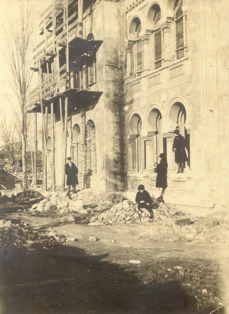Французский бульвар 37, дача Рашевского..1928 год.