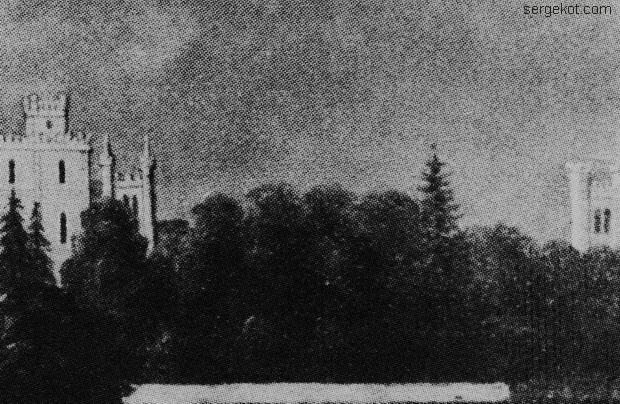 Червоно. Вторая половина XIX века. Не существующий дом справа.
