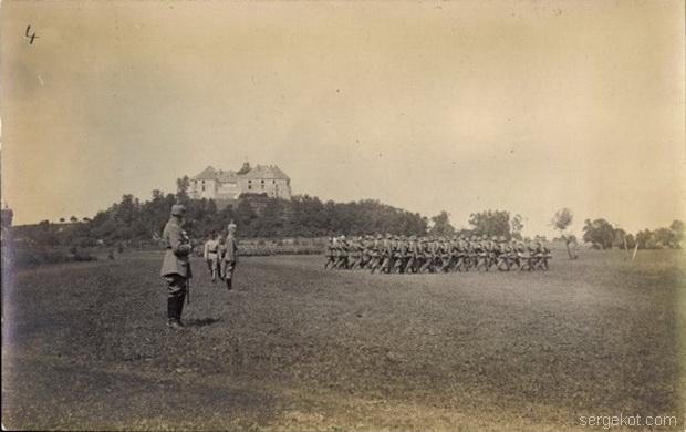 Олесский замок, Принц Леопольд Баварский и 9-я армия, 1917.