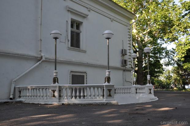 Дача Ашкенази. Боковой фасад.