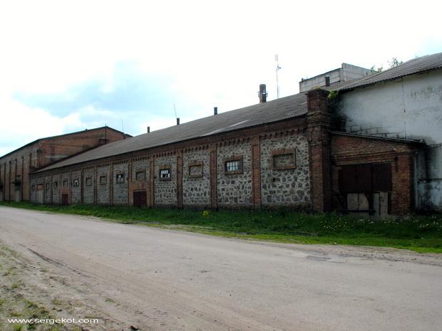 Червоно. Сахарный завод Терещенко.