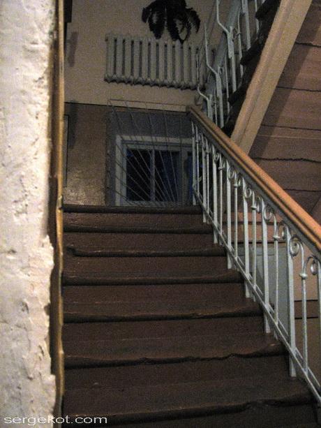 Мурованные Куриловцы.Лестница в интерьере..