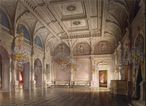 Mansion-of-Baron-A-L-Stieglitz.-The-Ballroom-