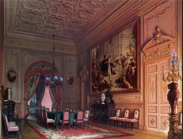 Mansion-of-Baron-A-L-Stieglitz.-The-Dining-room-