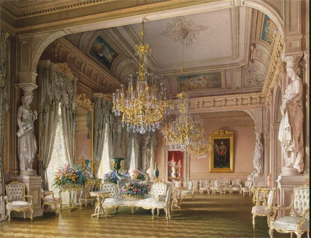 Mansion-of-Baron-A-L-Stieglitz.-The-White-Drawing-Room-