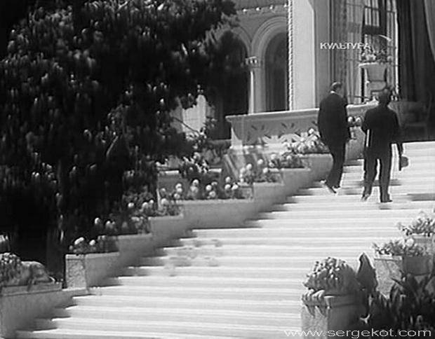 Дача Ашкенази. Кадр из фильма Строгий юноша.