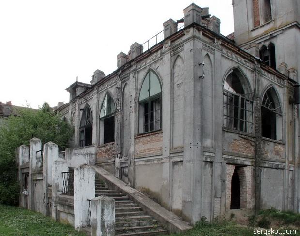 Червоно. Дворец Федора Терещенко.