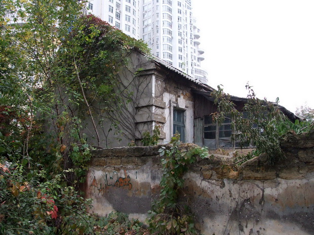 вероятно, остатки строений на даче Рапопорта.2