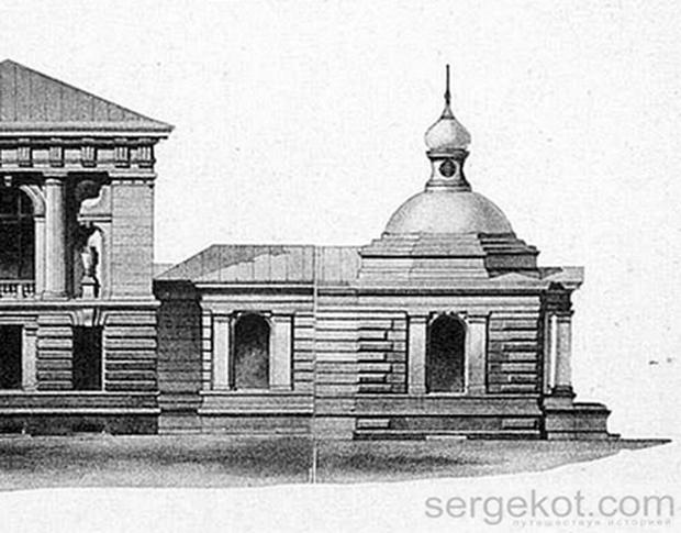 Валиховский переулок. часовня