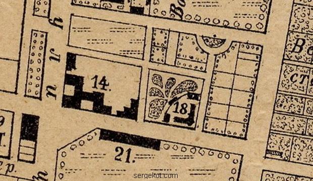 Карта Одессы 1894 года, Канатная 81 и 83.