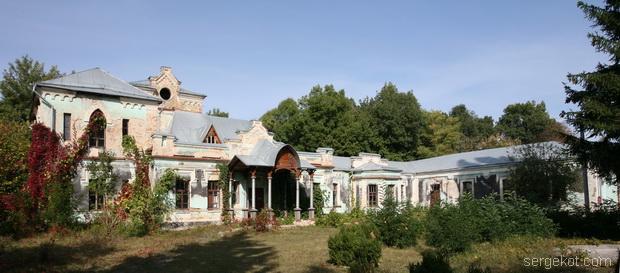 Тимановка. Общий вид дворца.