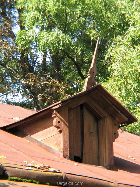 Тимановка. Служебные постройки. Крыша.