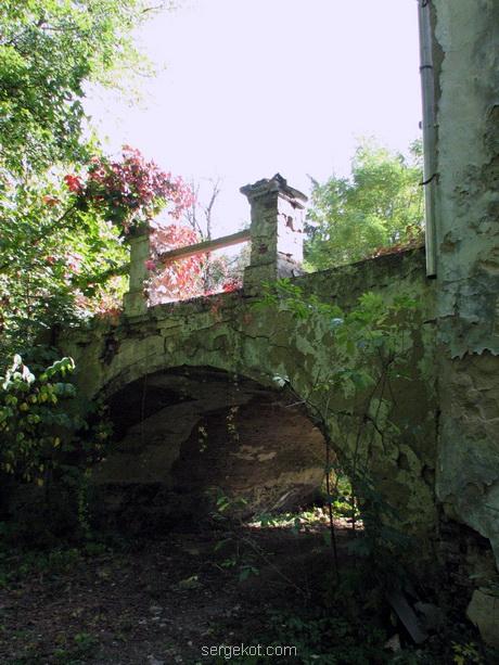 Тимановка. Терраса-мостик...