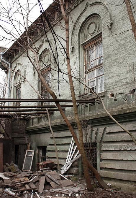 Инвалидный дом. Фасад по Старопортофранковской.