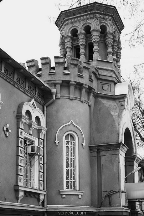 Мечникова, 53, Башня звонницы.