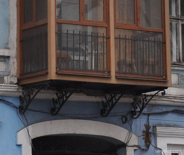 Пушкинская 76 балкон.