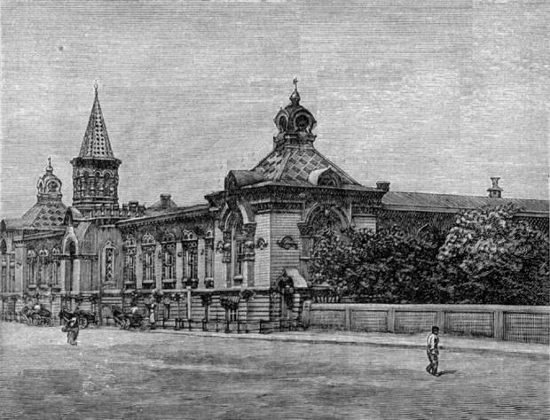 Убежище для благородных. Одесса и окрестности, 1892