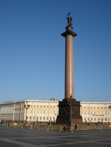 Санкт-Петербург. Александровская колонна. 2006