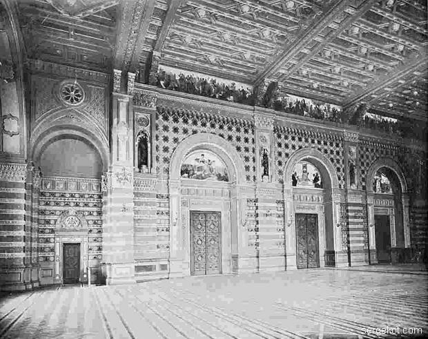 Новая Биржа. Часть Главного Зала.