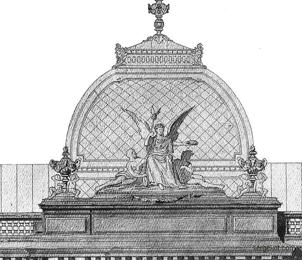 СПб Здание  Об-ва Взаимного кредита. Купол.. 1891