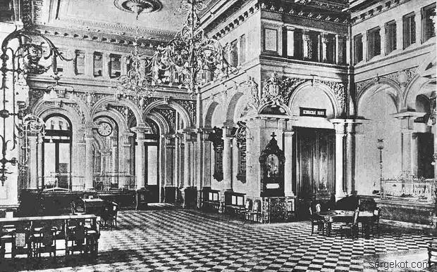 Главный зал СПб Об-ва Вз. Кр. 1891 1891-2--