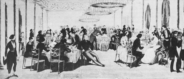 Ференц Лист в Немировском дворце.
