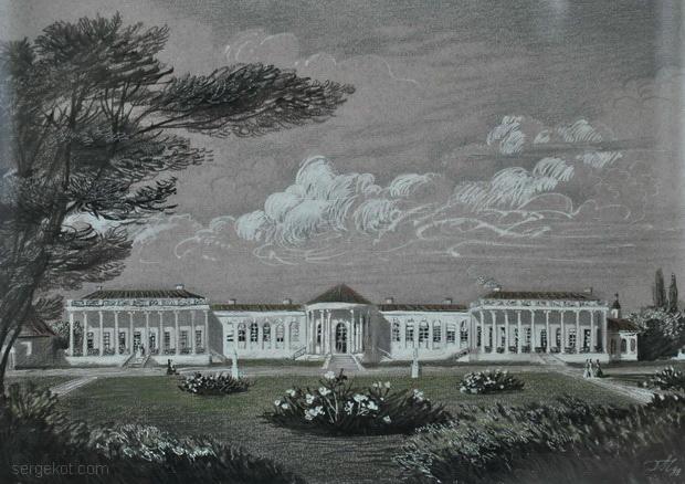 Немиров старый дворец.