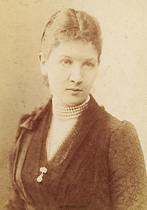 Мария Щербатова..