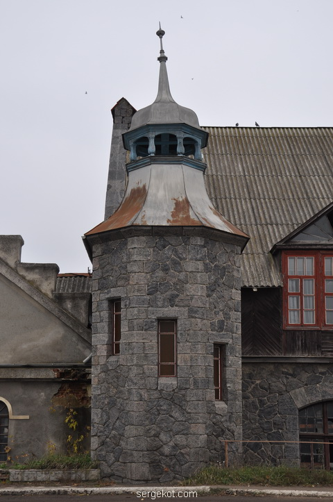 Немиров. Электростанция. Башня.