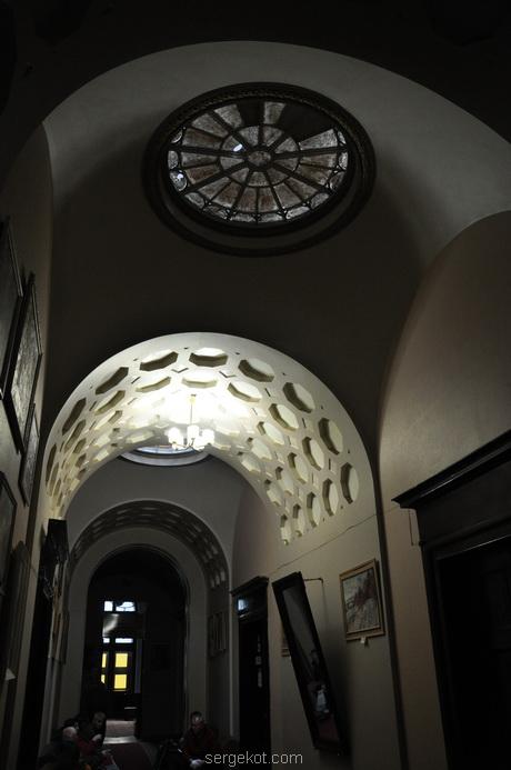 Немиров Интерьеры. Арочный коридор.