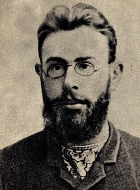 В. Л. Шанцер (Марат). 1899, фото сделано в Одессе