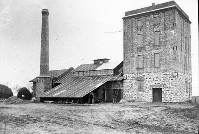 Ликеро-водочный завод в Шабо.