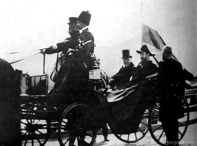 Николай II и Эмиль Лубе, Петербург, 1902.